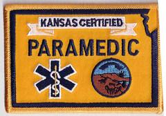 Kansas Paramedic Patch (Kuby!) Tags: kansas patch paramedic patches kuby kubitschek 2010s