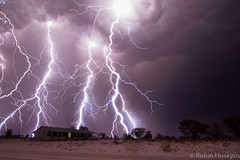 Epic Lightning ([[BIOSPHERE]]) Tags: africa sky storm clouds south electricity lightning electrical epic kalahari thunder
