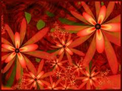 "orange glow (bloorose-thanks 4 all the faves!!) Tags: flowers art floral digital render fractal uf ultrafractal vividimagination artdigital shockofthenew awardtree ""exoticimage"" netartii"