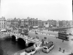 Straight On or Left or Right to Westmoreland Street Only (National Library of Ireland on The Commons) Tags: ireland dublin tractor cars buses liffey corinthian date grandcentral urinal trams eason toblerone telephonebox phonebox bicyles clerys glassnegative kodakfilm tylers overthehill bendigo leinster oconnellbridge mooneys riordan whitestarline edenquay playersplease nationallibraryofireland clochehats hopkinshopkins easonson irishwomenworkersunion iwwu easoncollection kapppeterson zi1722 corinthiancinema agbruty
