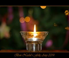 Bon Nadal (Vicent Bou) Tags: light 50mm navidad nikon noel f18 vela merrychristmas nadal feliznavidad 2014 bonnadal felizao ciri bokehlicious d7000 vicentbou