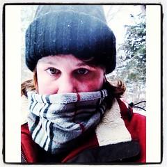 Brrrrr (noelle-christine-images) Tags: winter cold wisconsin scarf freezing selfie uploaded:by=flickrmobile flickriosapp:filter=nofilter