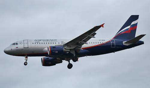 Airbus A319-111, Aeroflot - Russian Airlines, Cracow - Balice / John Paul II International (KRK / EPKK)