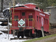 Millfield, Ohio (Bob McGilvray Jr.) Tags: railroad train tracks caboose bo baltimoreohio millfieldohio