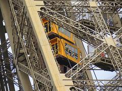 Eiffel Tower walk or elevator