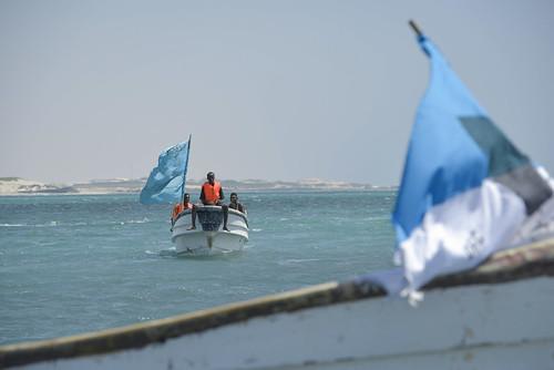 Lifeguards at Lido Beach, Mogadishu