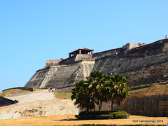 0515 Colonial Fort in Cartagena (Don C. over 2 Million Views) Tags: fort colonial columbia fortress cartagena