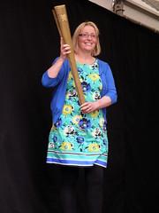 Tina English (Dave_Johnson) Tags: sheffield olympicgames london2012 olympictorch torchbearer tinaenglish