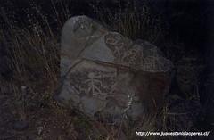 Petroglifo. Cordillera de Los Andes. San Esteban, V Región, 2002.