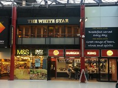 "The White Star, Lime Street station, Liverpool • <a style=""font-size:0.8em;"" href=""http://www.flickr.com/photos/9840291@N03/13179127344/"" target=""_blank"">View on Flickr</a>"