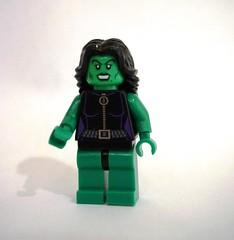 Lego She Hulk She hulk (mattzitron) tags: