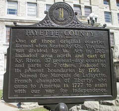 Fayette County Marker (Lexington, Kentucky) (courthouselover) Tags: kentucky ky courthouseextras fayettecounty lexington kentuckyhistoricalmarkers lgbt lgbtq gayvillages gaycommunities lgbtqcommunities lgbtcommunities northamerica unitedstates us