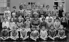 Book End (theirhistory) Tags: girls london art boys socks painting shoes dress teacher classphoto schoolclothing