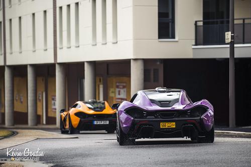 McLaren P1 Purple & Orange
