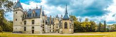 Chateau de Meillant (Maxime Bonzi) Tags: chateau bleu bourges centre charenton cher jardin jaune loire meillant musée renaisance val valdeloire panorama