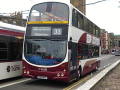 Lothian Buses 907 (SN08BXX) - 13-06-15 (peter_b2008) Tags: buses volvo edinburgh transport wright coaches 907 lothianbuses buspictures eclipsegemini b9tl sn08bxx