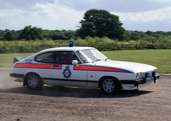 Greater Manchester Police Ford Capri (MJ_100) Tags: show ford manchester capri cops police policecar newark copcar showground emergencyservices emergencyvehicle greatermanchester