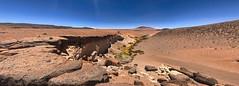 Canyon panorama. (david takes photos) Tags: losflamencosnationalreserve reservanacionallosflamencos riochico atacama chile sanpedrodeatacama regióndeantofagasta panorama x