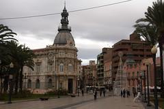 Cartagena (H&T PhotoWalks) Tags: streetscape cityscape plaza square cartagena murcia spain canoneos400d sigma18250 tan