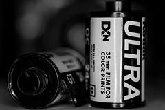 The Good Old Days Of 35mm (Macro Mondays) (Boba Fett3) Tags: macromondays bw monochrome film 35mm kodak dof closeup upclose depthoffield