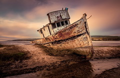 Memorias (Juan Pablo J.) Tags: travel sonya68 tonikasd1116f28dx longexposurephotography pointreyes shipwreck ship boat sunset sundown seascape beach classic