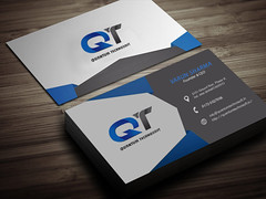 Business Card Design (quantumtechnosoft) Tags: graphicdesign businesscarddesign logodesign uiux creativedesign interactivedesign creativebusinesscard businesscard companybusinesscard