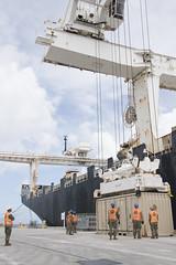 170308-N-IV194-0161 (U.S. Pacific Fleet) Tags: naval cargo handling battalion ordnance navalbaseguam guam gu