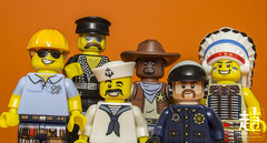 Village People (mikechiu86) Tags: villagepeople lgbt collectible ymca minifigure lego gay photography toys minifigures