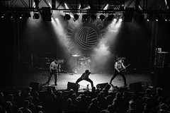 PEARS at Knitting Factory Boise _ Treefort - by The Tyler Price-3054 (Treefort Photo Dept) Tags: pears knittingfactory theknittingfactoryboise punk blackandwhite treefort2017 treefort