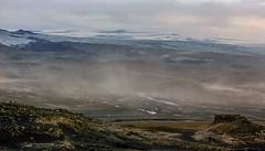 Sandstorm on the Fimvörðuháls trail, Iceland (thorrisig) Tags: 17082012 fimmvörðuháls himininn sandfok iceland ísland island icelandicnature íslensknáttúra landscape landslag southiceland southoficeland thorrisig thorfinnursigurgeirsson þorrisig thorri thorfinnur þorfinnur þorri þorfinnursigurgeirsson desert sandstorm vastness wilderness outdoors suðurland mýrdaldjökull