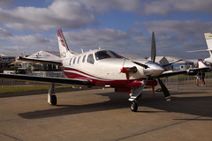VH-LZJ (joolsgriff) Tags: australianinternationalairshow avalon airshow 2017 daher socata tbm 900 700 vhlzj