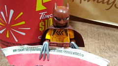 I CAN DIG MY CLAWS INTO THESE ! (kingkong21) Tags: lego catman thebatmanmovie 2017 timhortons