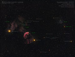 Quallennebel IC443 (Splitlightarts) Tags: ic 444 443 ngc 2158 zwillinge stern sterne astro astronomy astronomie astrofotografie astrophotography asi space weltall kosmos 1600 mmc deepsky h alpha rgb lrgb canon widefield nacht himmel nebel sternhaufen offen emission reflexion balkonsternwarte leipzig m35