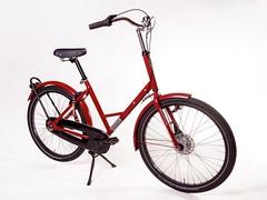 Gr8 Red UTZ-1 (@WorkCycles) Tags: amsterdam bicycle bike dutch fiets fietsen gr8 heavyduty industrial transport utz workcycles
