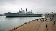 IMG_0506 - HMS Ark Royal - Portsmouth - 20.05.13 (Colin D Lee) Tags: tower turkey waterfront harbour aircraft royal farewell round portsmouth scrapyard breakers ark carrier turkish sendoff rn hms dockyard towed decommissioned royalnavy scrapped