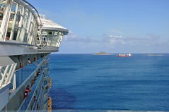 Docking St Thomas (Eric Holmes) Tags: ocean cruise sea islands ship royal caribbean allure rci allureoftheseas