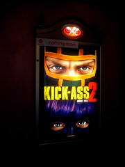 Kick Ass 2 Movie 0160 (Brechtbug) Tags: street new york city 2 two cinema film ass booth movie poster comic action kick manhattan telephone ad billboard advertisement adventure midtown suit sidewalk transportation hero comicbook superhero avenue 9th 44th 2013