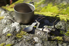 Do you need more? (HendrikMorkel) Tags: outdoors gear titanium stoves esbit