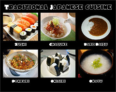 Japanese cuisine offers a great variety of dishes and regional specialties. Some of the most popular Japanese and Japanized dishes are listed below. (moramo111) Tags: foods high healthy protein