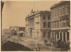 Merchants' Exchange, on Battery street. (SMU Central University Libraries) Tags: sanfrancisco california history buildings cityscapes pib uswest batterystreet photographicallyillustratedbooks