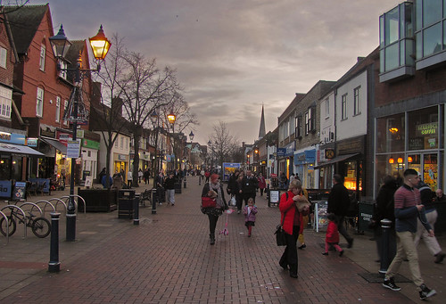 Dusk - Solihull High Street