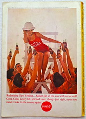 1963 - 1960s Vintage Coca Cola Advertisement From National Geographic Back Page 38 (Christian Montone) Tags: vintage ads advertising coke americana soda cocacola advertisements sodapop vintageads vintageadvert