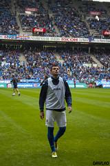 Baquero volviendo a vestuarios (Dawlad Ast) Tags: real asturias carlos pedro estadio oviedo futbol junio nuevo eibar playoff baquero 2013 tartiere