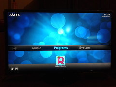 RaspBMC, Samsung UA32F4000AM (Yan Arief) Tags: raspberry xbmc