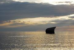 Bayfield Shipwreck (catecuerden) Tags: sunset shipwreck bayfield 2013 bayfield09062013
