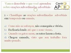 Exerccio orao subordinada substantiva - 37 (AulasApoioCom) Tags: o  que orao exercicios oraes subordinada substantivas substantiva