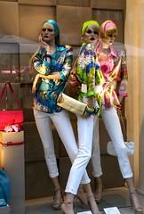 Perugia, Corso Vannucci, Schaufenster von Luisa Spagnoli (shop window) (HEN-Magonza) Tags: italien italy fashion italia schaufenster shopwindow mode perugia umbria corsovannucci umbrien luisaspagnoli