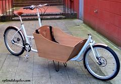 gray 009af (Splendid Cycles) Tags: brooks schwalbe shimano bakfiets cargobikes alfine metrofiets splendidcycles boxbikes