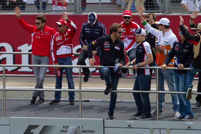 F1 Driver's Parade