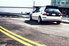 Bubble Hatch (TRphotoarchive) Tags: streets honda cage civic hatch carbon fiber build cf carbonfiber vtech stance